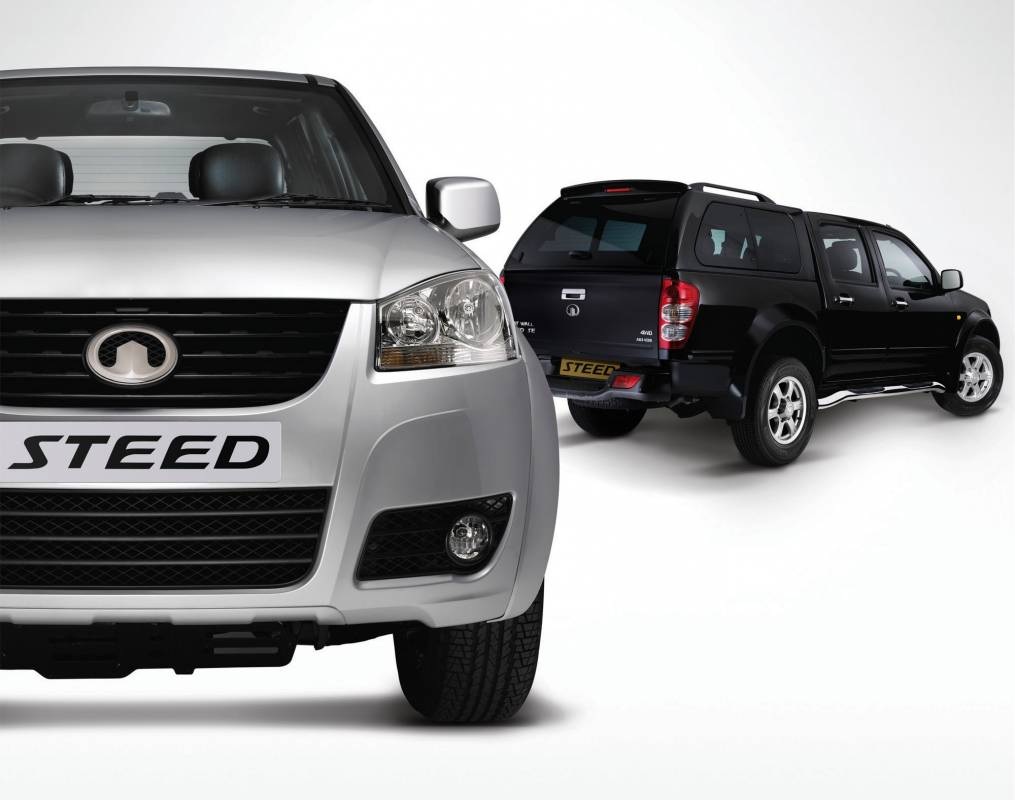 Great Wall Motors steed cut out image