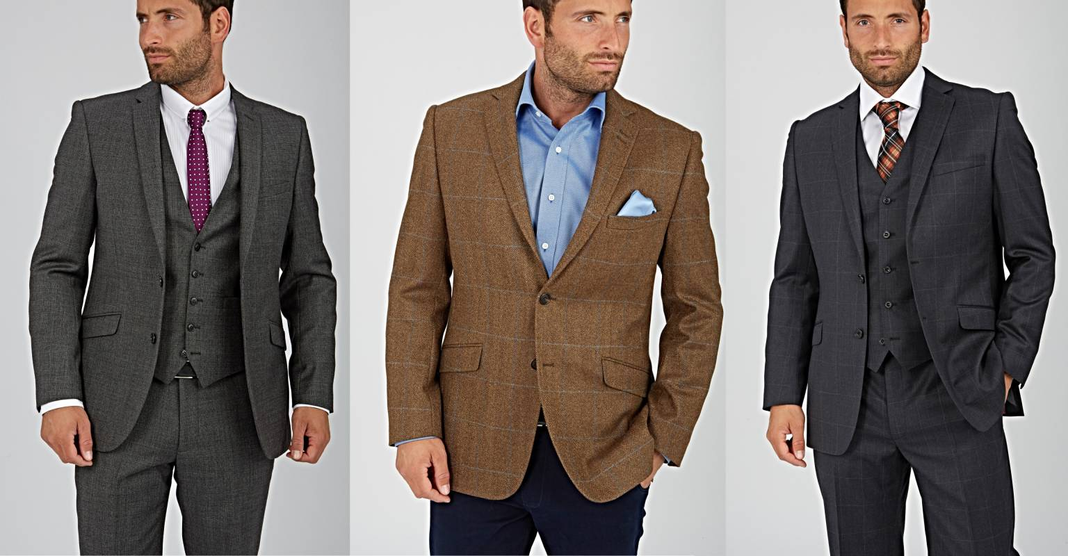 Paul Costelloe House of Frazer men's tweed jackets, suits and blazers