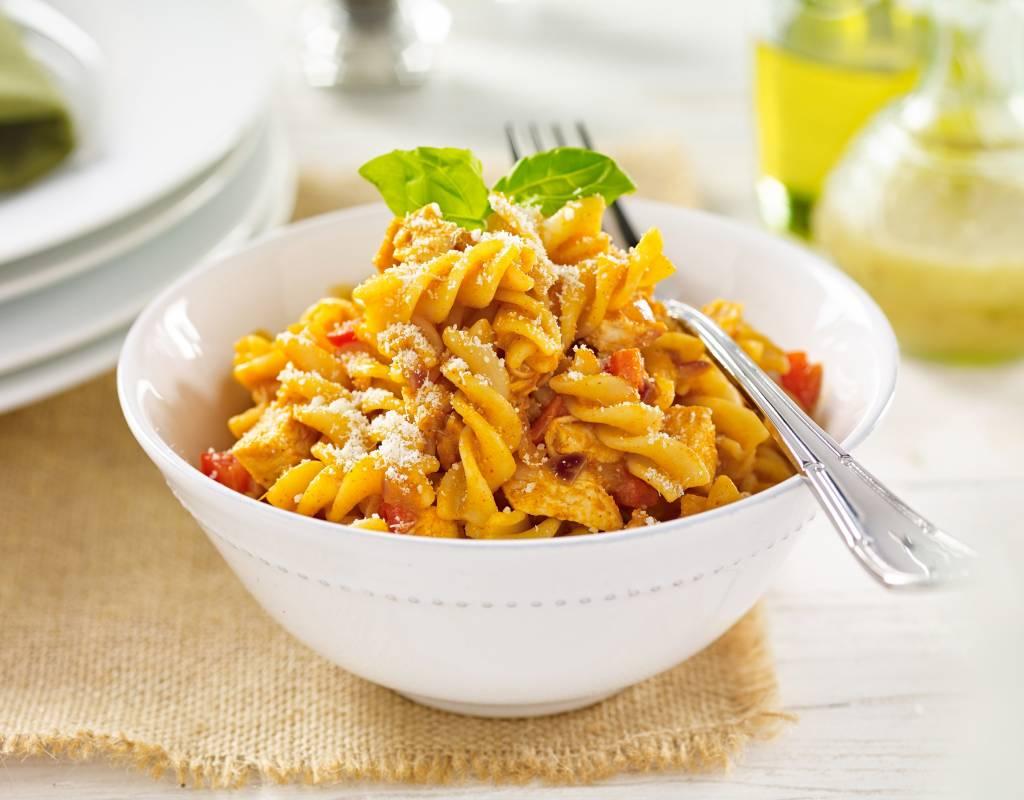 Italian tomato pasta dish