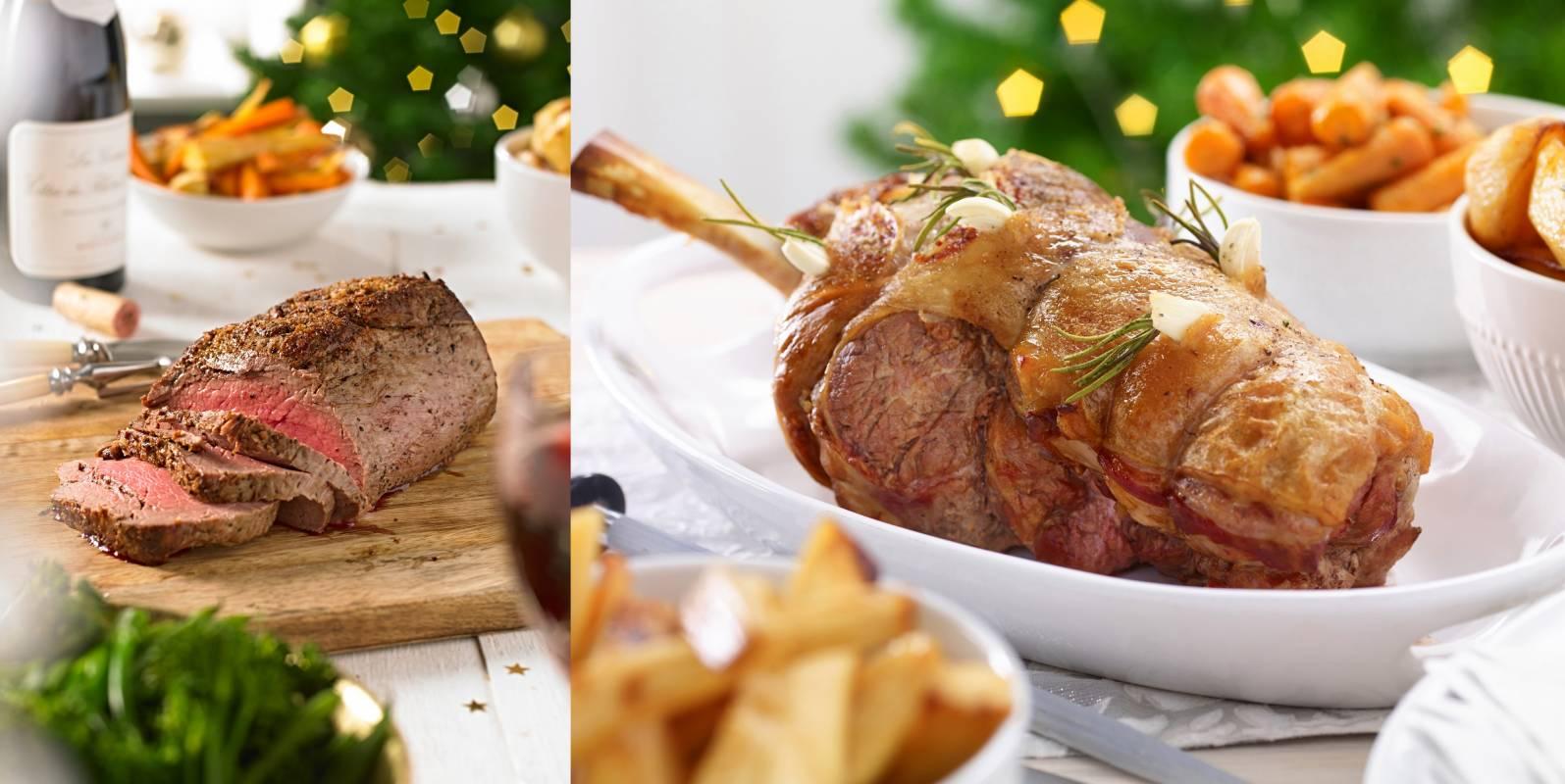 Roast beef, roast pork, Sunday lunch