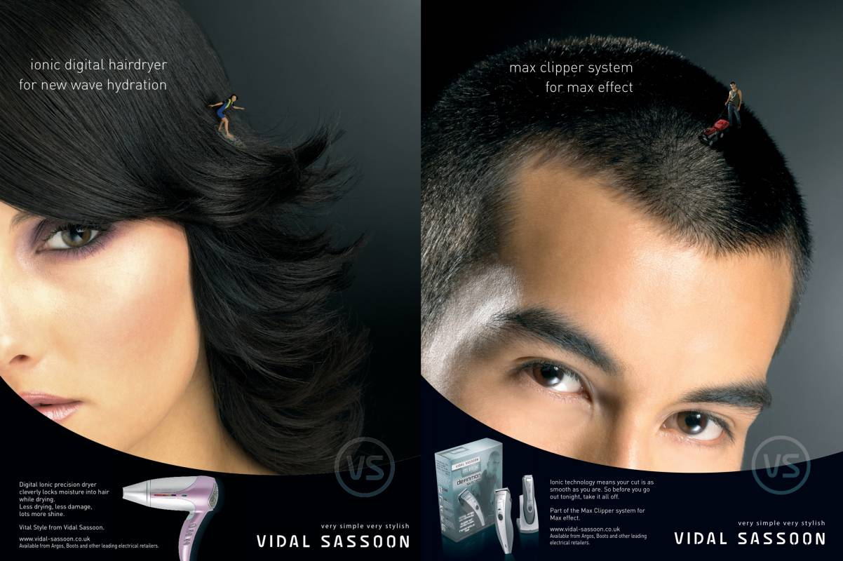 Vidal Sassoon digital hairdryer and max clipper system