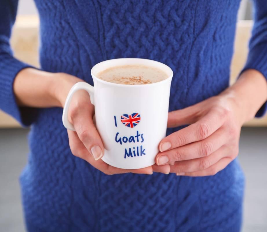 I love goats milk mug