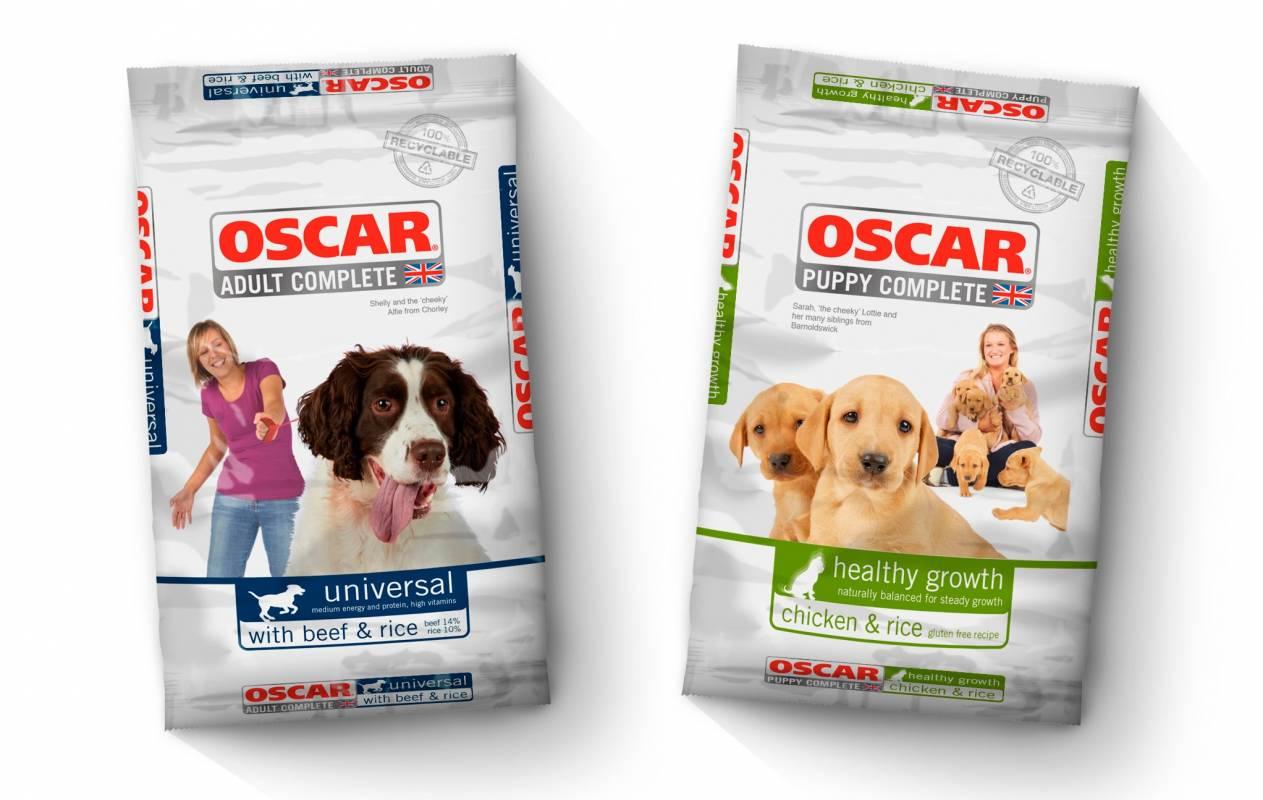 Oscar dog food