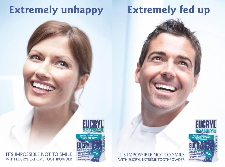 Eucryl extreme toothpowder for white teeth
