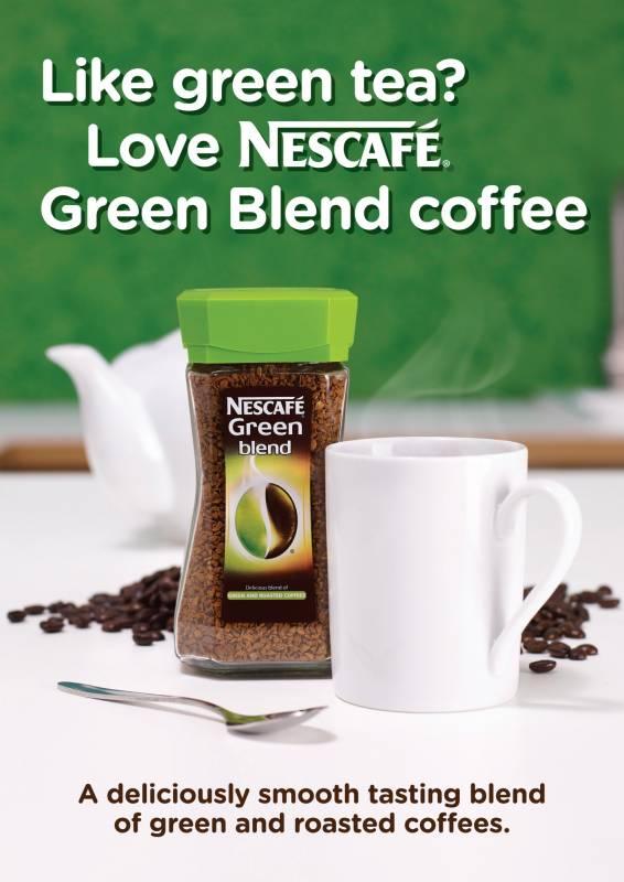 Nescafe green blend coffee