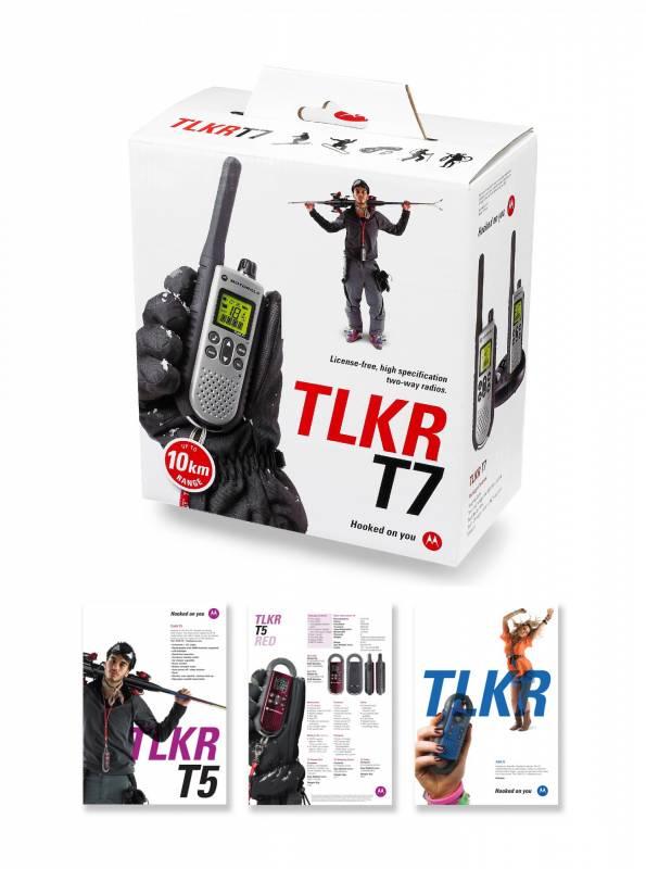 Motorola TLKR packaging images