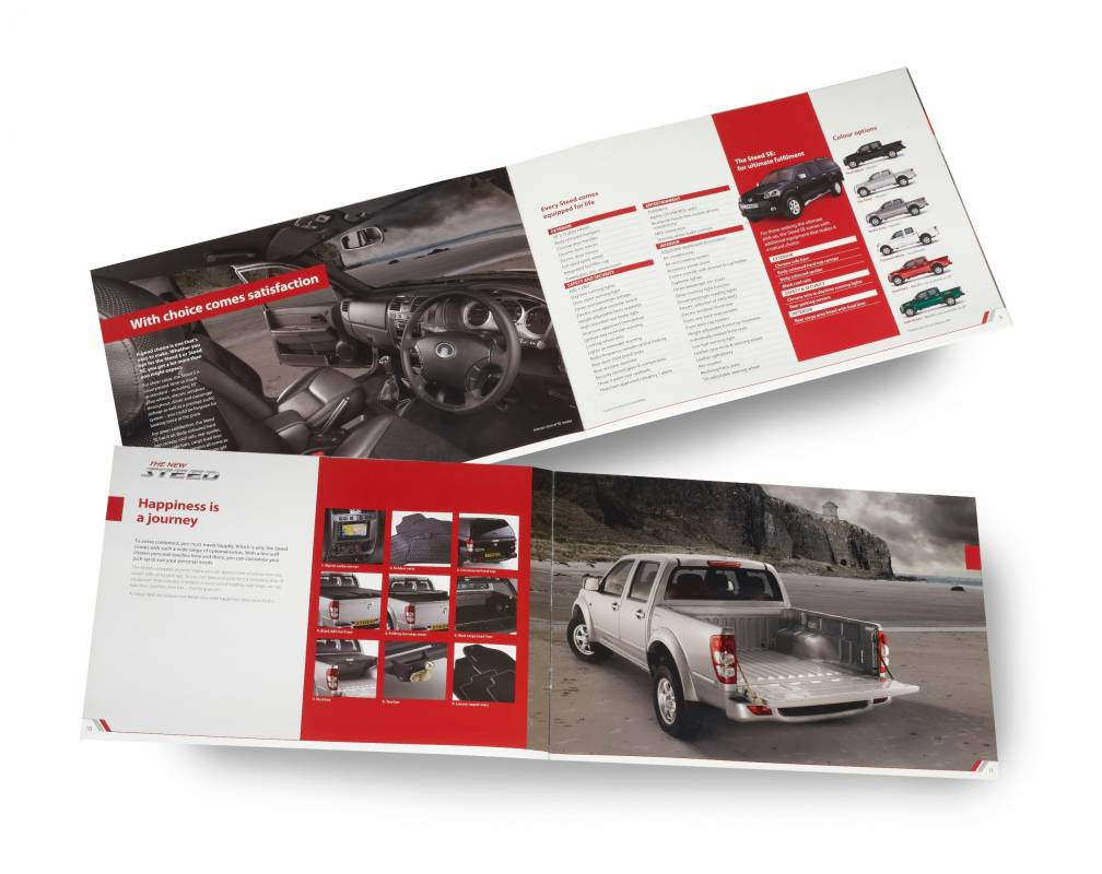 Great Wall Motors steed brochure for car pickup truck